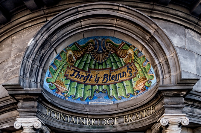 Thrift Is Blessing (It Says Here). @beautifuledin @Beathhigh #Edinburgh #Photography