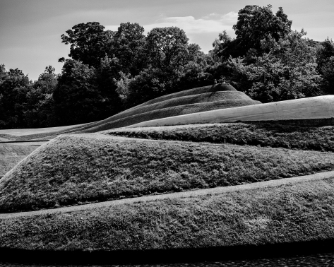 At Jupiter Artland. Photo by and copyright of Paul Henni.