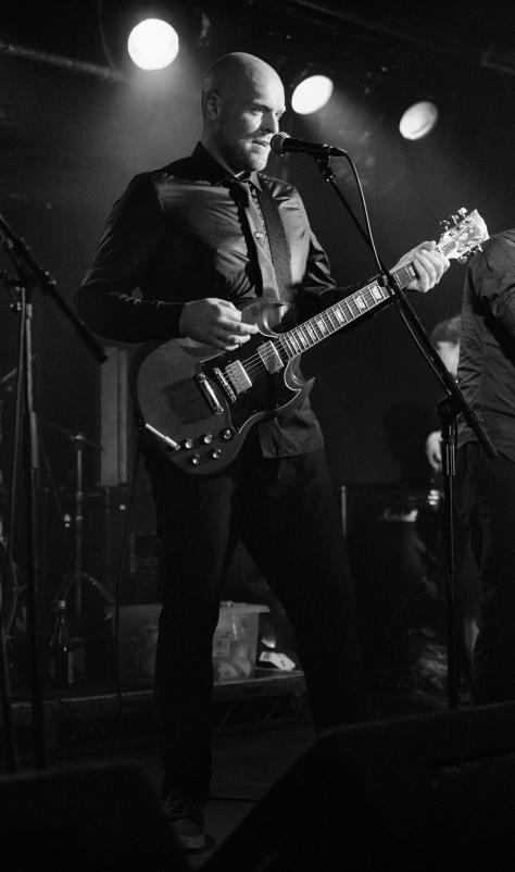 Geetar Man. Bombskare at Studio 24, Edinburgh. Photo by and copyright of Paul Henni.