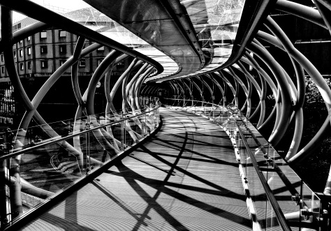Curvy Walkway. Photo by and copyright of Paul Henni.