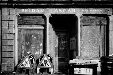 Beldam Lascar, Leith. Photo by and copyright of Paul Henni.