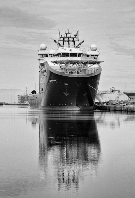 The Big Boat, Leith (AKOFS - Aker Wayfarer). Photo by and copyright of Lynn Henni.