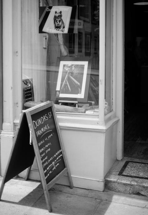 henni.photo @ Dundas Street Framers. Photo by and copyright of Paul Henni.